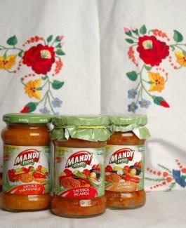 Mandy zacusca ciuperci (vegetable hotchpotch)